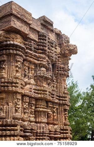 Ancient Sandstone Column.
