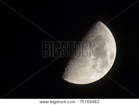 Crescent Moon In October