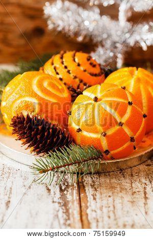 Christmas oranges