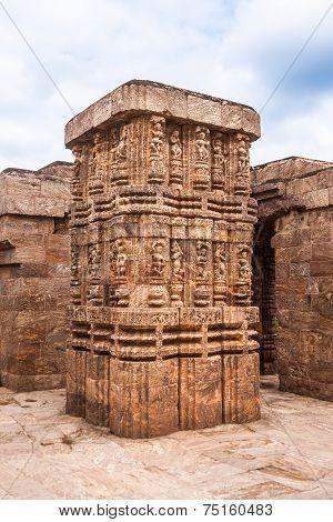 Ancient Sandstone Columns