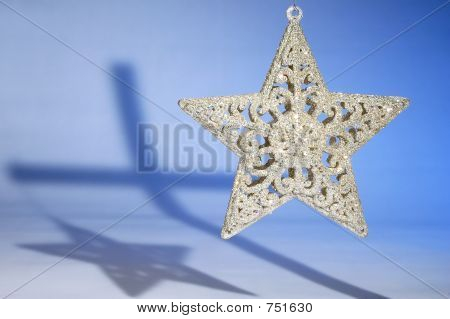 Christmas Star and Cross