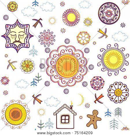 Shrovetide wallpaper