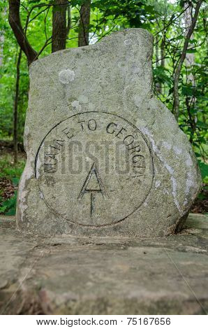 Start Of The Appalachian Trail Marker