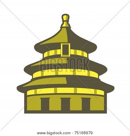 China Tiantan tempel, famous Landmark