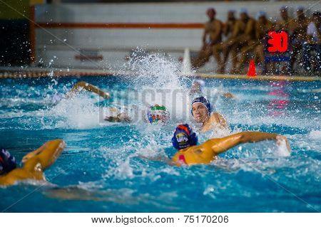 Como,  October 18:  A. Razzi ( 11 Dark Cap  Bpm Sport Management) In  Como Nuoto - Bpm Sport Managem
