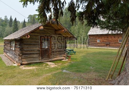 Hubble Homestead Log Cabin