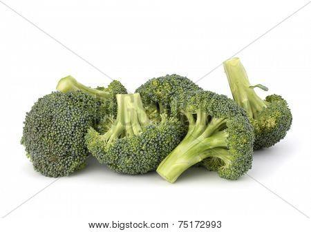 Broccoli vegetable isolated on white background