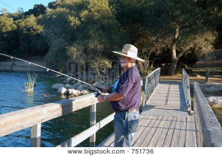 Senior Fisherman