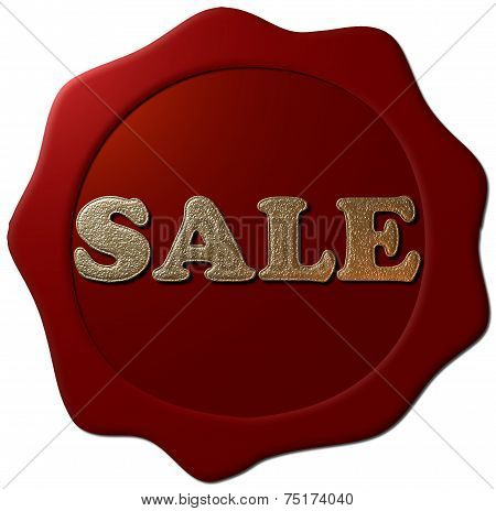 Sale (Wax Seal)