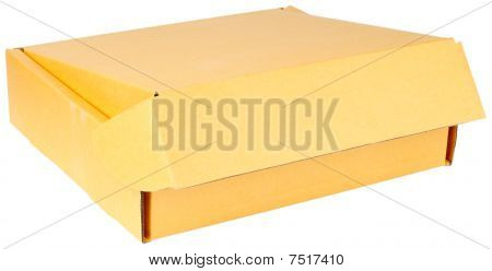Paperboard Box On White