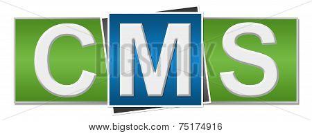 CMS Green Blue