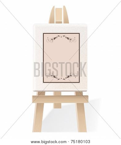 Decorative Wooden Easel