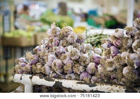 Garlic On Nizwa Market