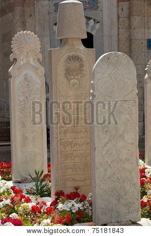 Mevlana museum mosque in Konya Turkey