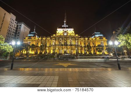 Government Palace In Tucuman, Argentina.