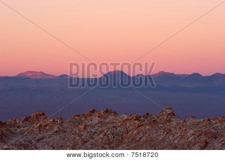 Majestic Sunset In Atacama Desert, Chile