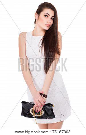 Portrait Of Sexy Brunette