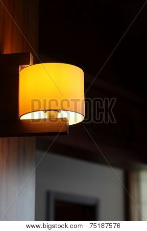Lampshade On The Wall