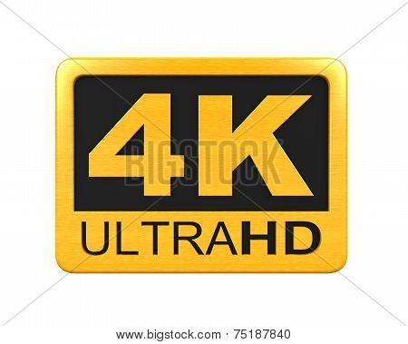 Ultra HD 4K icon