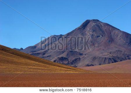 Dormant Volcano In Atacama Desert, Chile