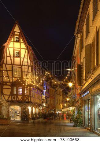 Street In Colmar