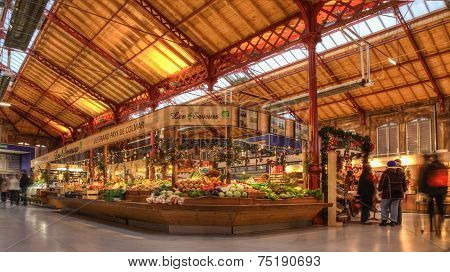 Vegetables Market In Colmar