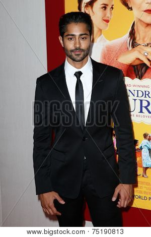 NEW YORK-AUG 4: Actor Manish Dayal attends