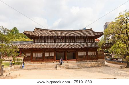 Seogeodang Hall Of Deoksugung Palace (xv C.) In Seoul, Korea