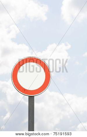 Round Sign