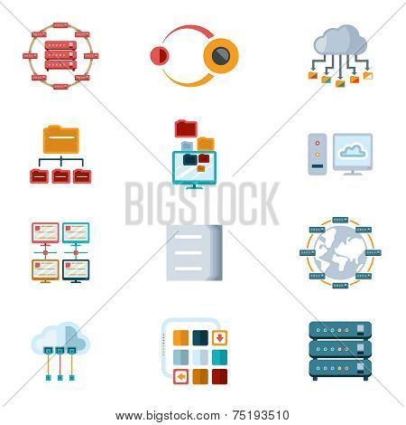 Computer Networking Icons