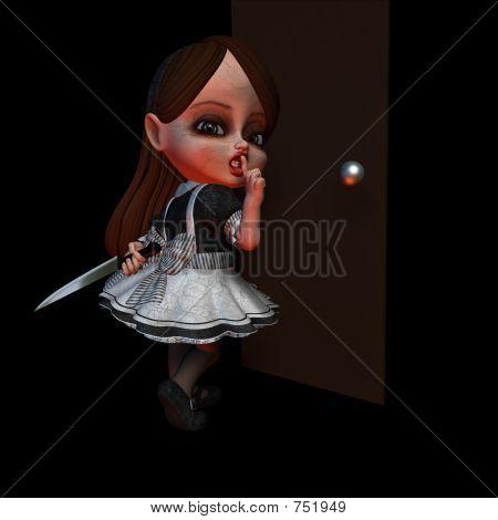Halloween Doll 4 - Shhh