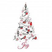 foto of congratulations  - Retro Christmas Card  - JPG