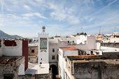 foto of asilah  - A street in the old medina of Tetouan in Morocco - JPG