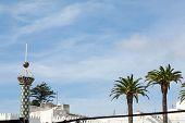 pic of asilah  - A street in the old medina of Tetouan in Morocco - JPG