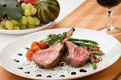 foto of crust  - Herb crusted lamb chops  - JPG