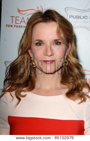 LOS ANGELES - MAR 7:  Lea Thompson at the Raising The Bar To End Parkinsons Event at the Public School 818 on March 7, 2015 in Sherman Oaks, CA