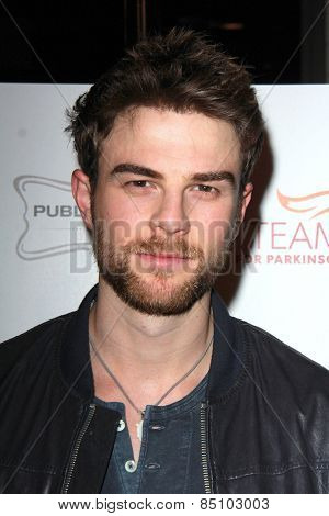 LOS ANGELES - MAR 7:  Nathaniel Buzolic at the Raising The Bar To End Parkinsons Event at the Public School 818 on March 7, 2015 in Sherman Oaks, CA