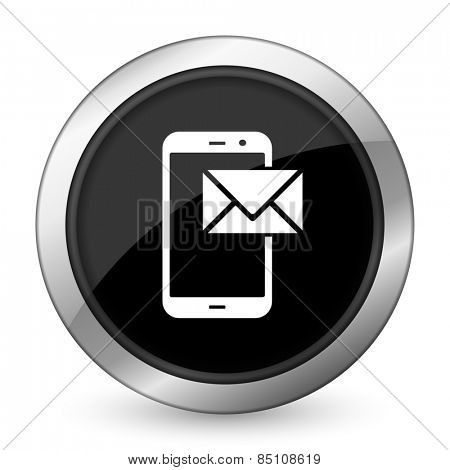 mail black icon post sign