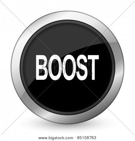 boost black icon