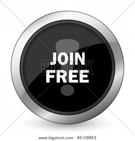 join free black icon