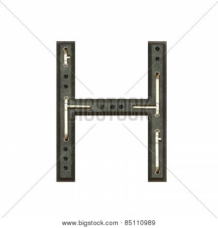 Alphabet Technically, Letter H