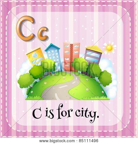 Alphabet C is for city