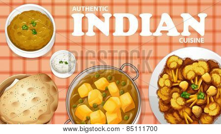 Authentic Indian cuisine on the menu