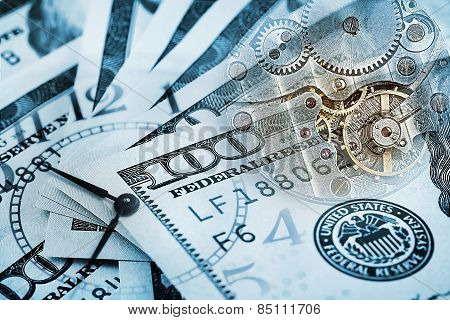 Conceptual background time costs money