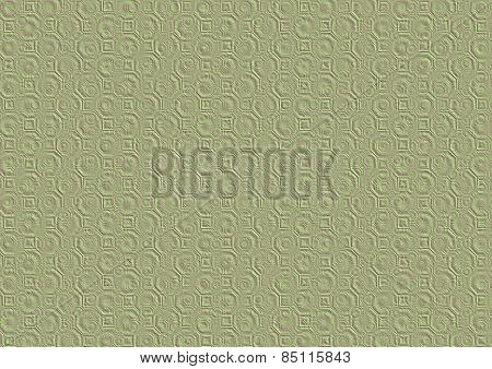 Iridescent Green Purple Embossed Paper 3D Texture