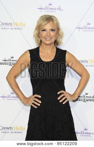 LOS ANGELES - JAN 8: Teryl Rothery at the TCA Winter 2015 Event For Hallmark Channel and Hallmark Movies & Mysteries at Tournament House on January 8, 2015 in Pasadena, CA