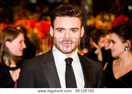 BERLIN, GERMANY - FEBRUARY 13: Richard Madden attends the 'Cinderella' premiere during the 65th Berlinale Film Festival at Berlinale Palace on February 13, 2015 in Berlin, Germany.