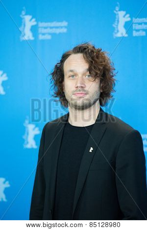 BERLIN, GERMANY - FEBRUARY 11: Actor Elmer Back.  'Eisenstein in Guanajuato' photocall. 65th Berlinale International Film Festival at Grand Hyatt Hotel on February 11, 2015 in Berlin, Germany.