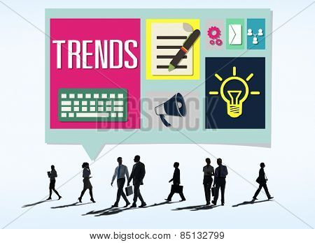 Media Hot Trendy Latest Modern Concept