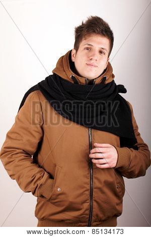 Boy with anorak